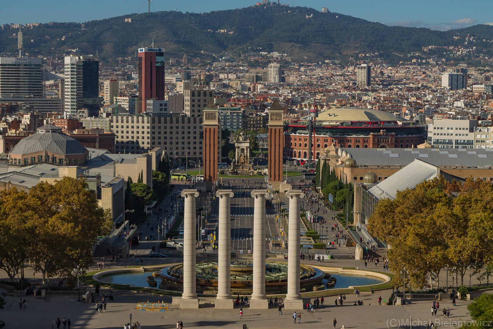 Plac Hiszpański - Plaça d'Espanya